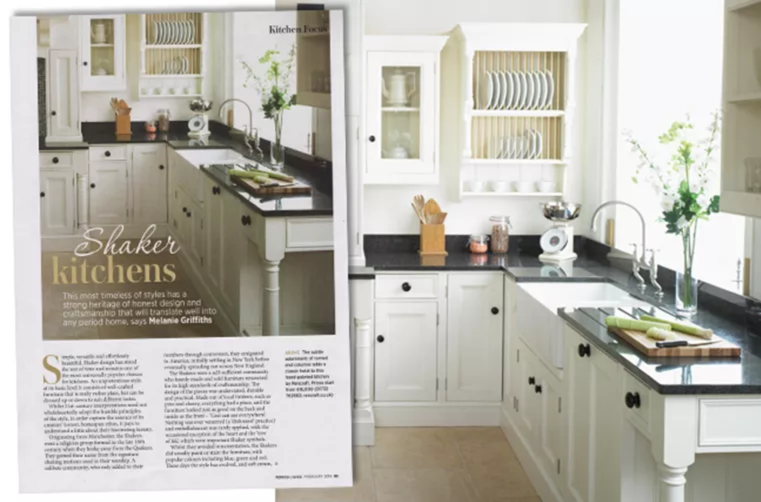 Bespoke kitchen design as seen in Period Living - February 2014 ...