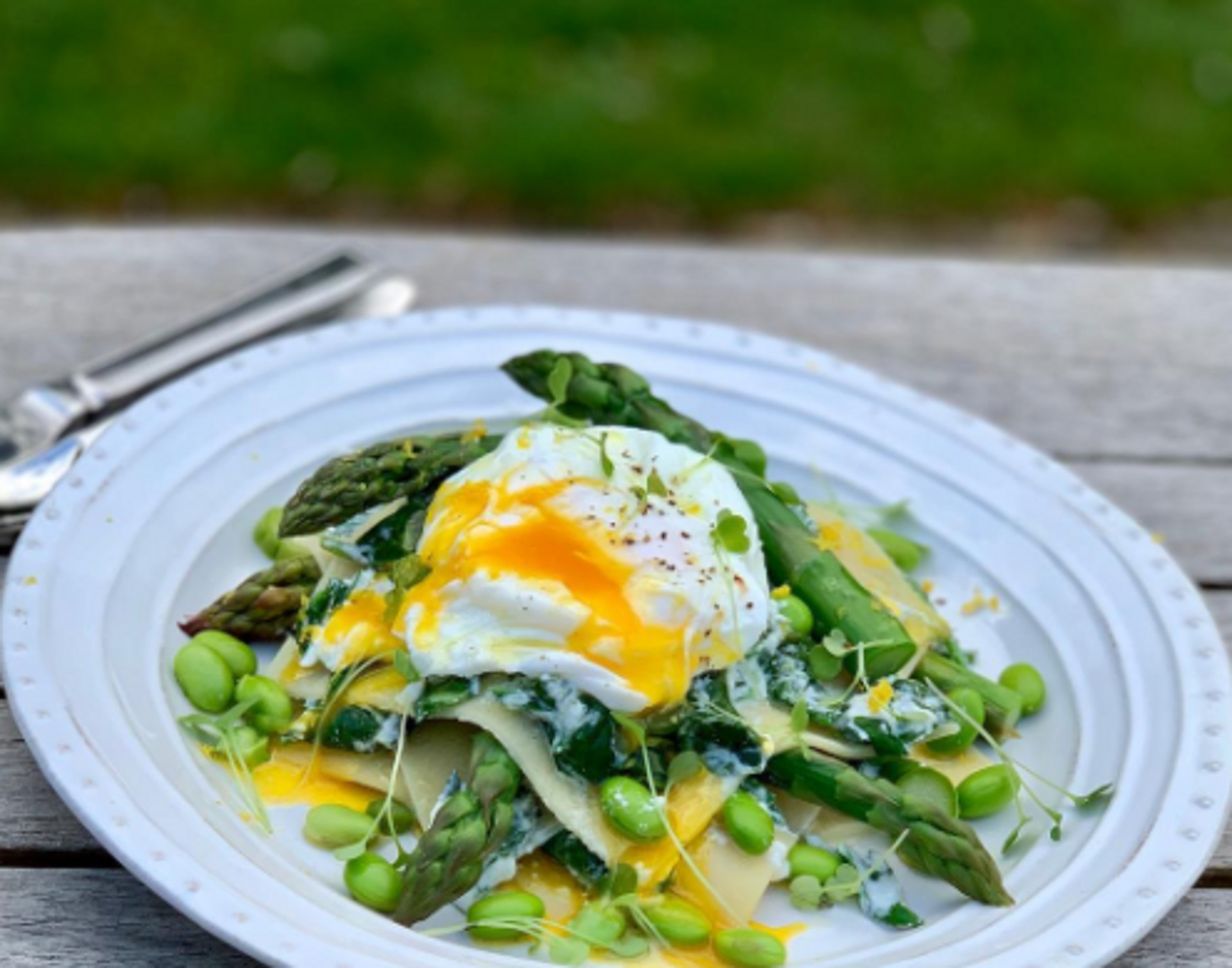 Recipe: Asparagus, Ricotta & Spinach Open Lasagne - Rencraft
